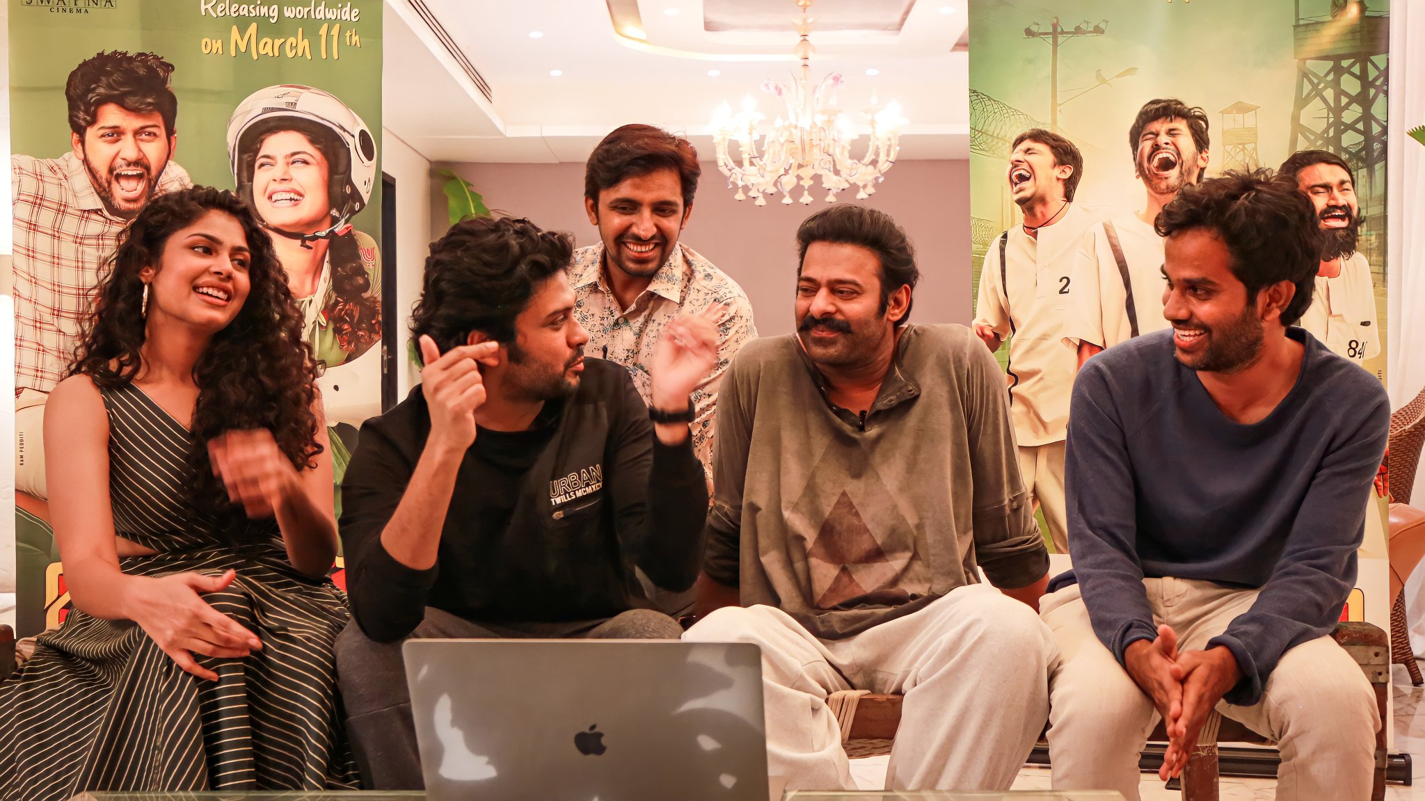 Jathi Ratnalu Trailer Launched by Prabhas | Picture 2